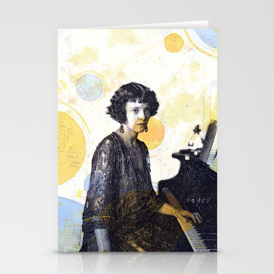 Drape Stationery Card