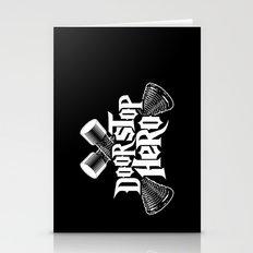 Door Stop Hero Stationery Cards