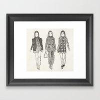 Miu Miu fall 2012 RTW Framed Art Print