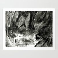 Dream view serie - Forest meeting Art Print