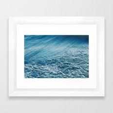 cold embrace Framed Art Print