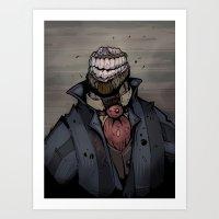 Best dressed monster Art Print