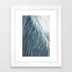 Horse mane - fine art print n°1 Framed Art Print