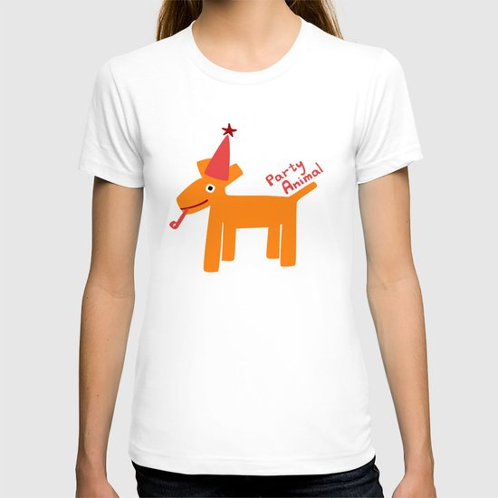 Party Animal-Orange T-shirt