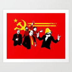 The Communist Party (original) Art Print