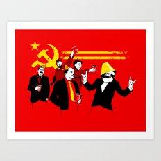 The Communist Party (ori… Art Print