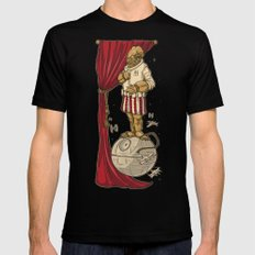Foolish Mortals...It's a TRAP. Mens Fitted Tee SMALL Black