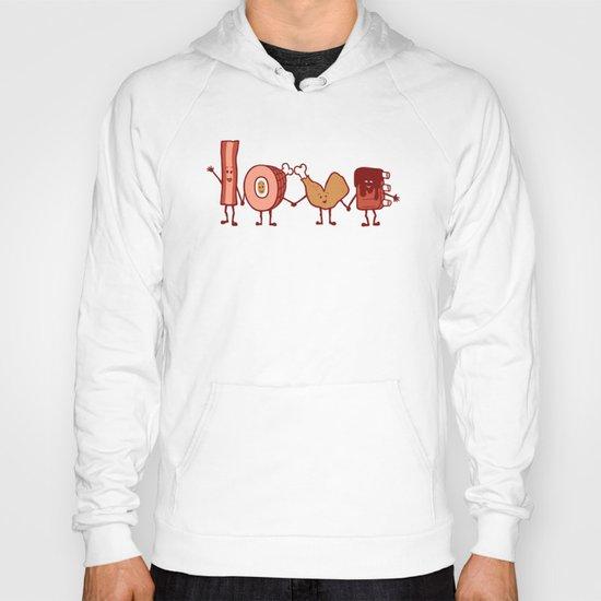 Meat Love U Hoody