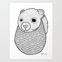 Mr. Rupel's Most Ingenuous Beard for Bears  Art Print
