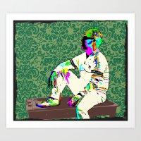 Tom Hollander In Hanna Art Print