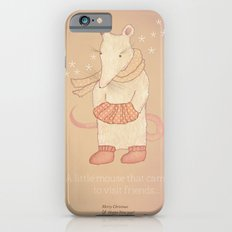 Christmas creatures- The Little Mouse iPhone 6 Slim Case
