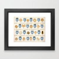 Coffee Lovin' Framed Art Print