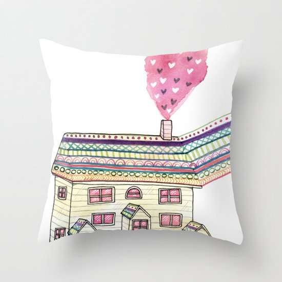 Dream Home Throw Pillow