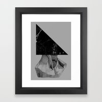 A Triangle Framed Art Print