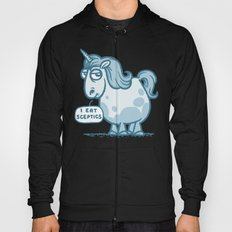 Overweight Unicorn (monochrome) Hoody