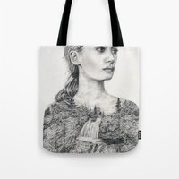 Don't Be Tempted To Look Back Tote Bag