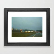 Middle America Framed Art Print