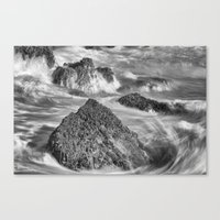 Around The Rocks Canvas Print