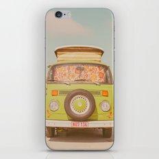 let's ride through europe iPhone & iPod Skin