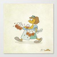 Beeeeeer!!! Canvas Print