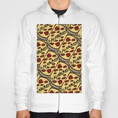 pattern pizza Hoody