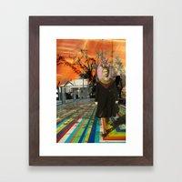 Floored Up Framed Art Print