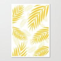 gold paradise Canvas Print