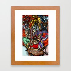 Knights of the Round Framed Art Print