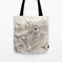The Horned Lizard. Tote Bag