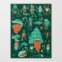 Wow! Creatures!  Canvas Print