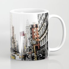 Desaturated New York Mug