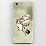 iPhone & iPod Skin featuring Moth 2 by Freeminds
