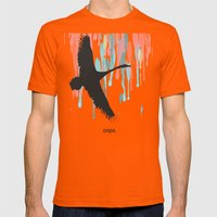 Oops Mens Fitted Tee Orange SMALL