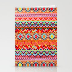 India Style Pattern (Multicolor) Stationery Cards