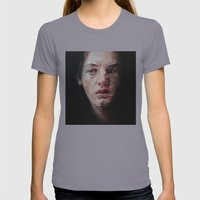 Seven Womens Fitted Tee Slate SMALL