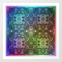 pattern series 107 Art Print