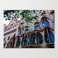 Casa Batllo: Barcelona, … Canvas Print