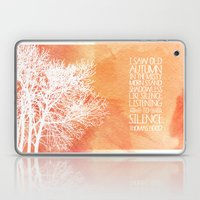 Autumn Silence Laptop & iPad Skin