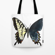 Gynandromorph No.1 Naturalist Butterflies Tote Bag