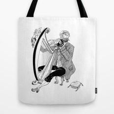 Ye Olde Harp Player Tote Bag