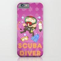 Scuba dive iPhone 6 Slim Case