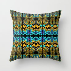 Geometric_04_analuisa Throw Pillow