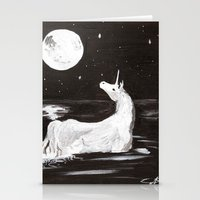 The Last Unicorn Stationery Cards