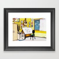 MEMORIES OF MY INNER CHI… Framed Art Print