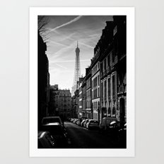 Any Corner In Paris Art Print