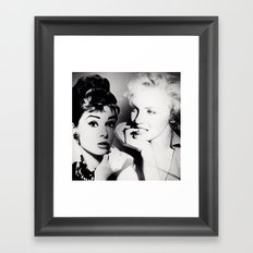 Timeless Dilemma [Consideration] Framed Art Print