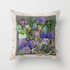 South Africa's Succulent… Throw Pillow