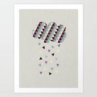 Raining Pleasure Art Print