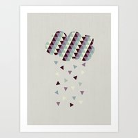 Raining Pleasure Art Print