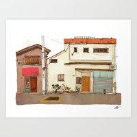 Tokyo Street 4 Art Print